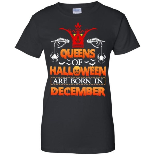 image 970 600x600 - Queens of Halloween are born in December shirt, tank top, hoodie