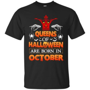 image 985 300x300 - Queens of Halloween are born in October shirt, tank top, hoodie