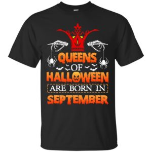 image 998 300x300 - Queens of Halloween are born in September shirt, tank top, hoodie