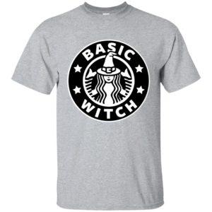 image 1013 300x300 - Basic Witch Shirt, Halloween Starbuck parody
