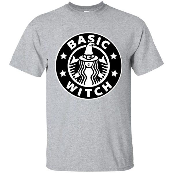image 1013 600x600 - Basic Witch Shirt, Halloween Starbuck parody
