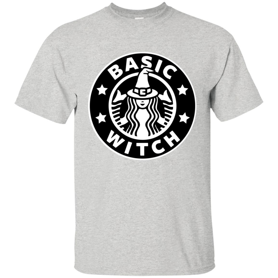 image 1014 - Basic Witch Shirt, Halloween Starbuck parody