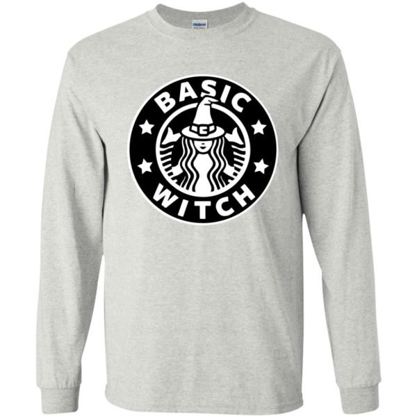 image 1016 600x600 - Basic Witch Shirt, Halloween Starbuck parody
