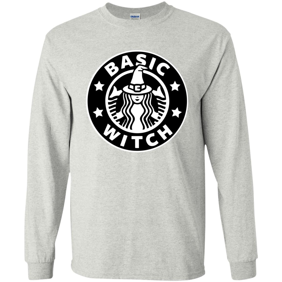 image 1016 - Basic Witch Shirt, Halloween Starbuck parody