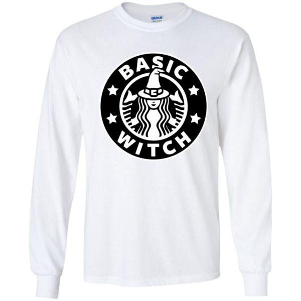 image 1017 600x600 - Basic Witch Shirt, Halloween Starbuck parody