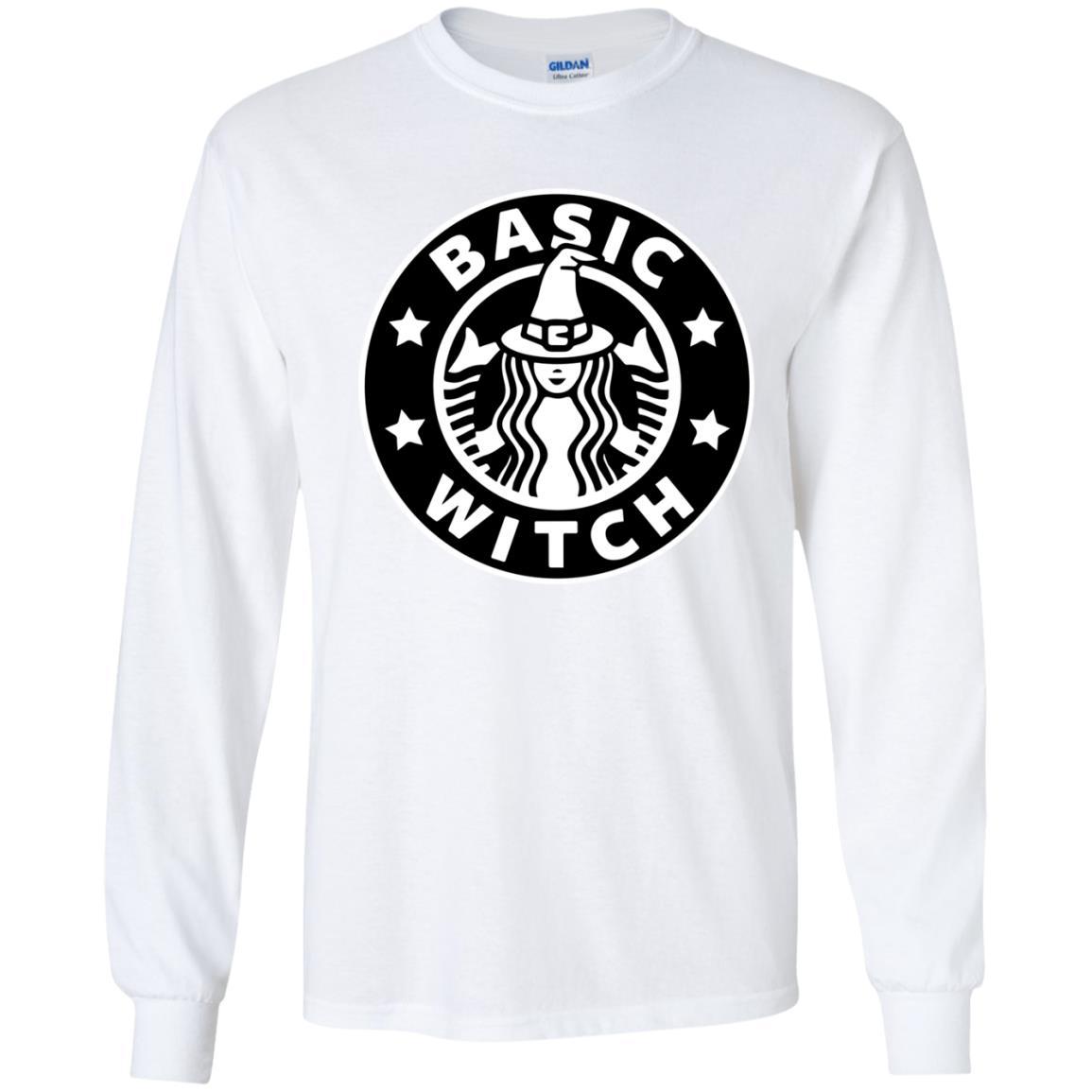 image 1017 - Basic Witch Shirt, Halloween Starbuck parody