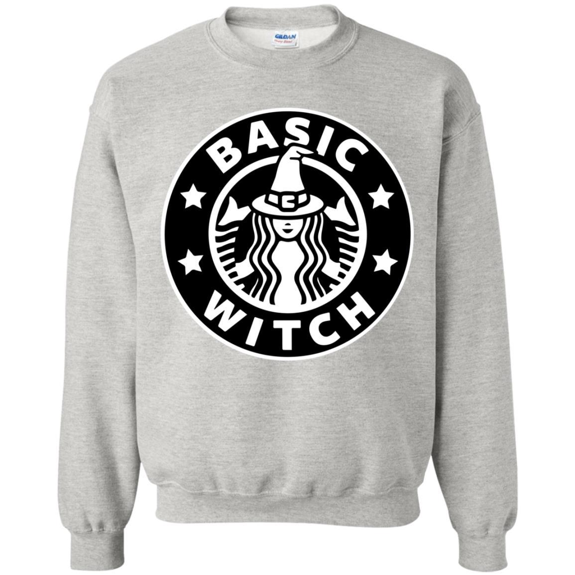 image 1020 - Basic Witch Shirt, Halloween Starbuck parody