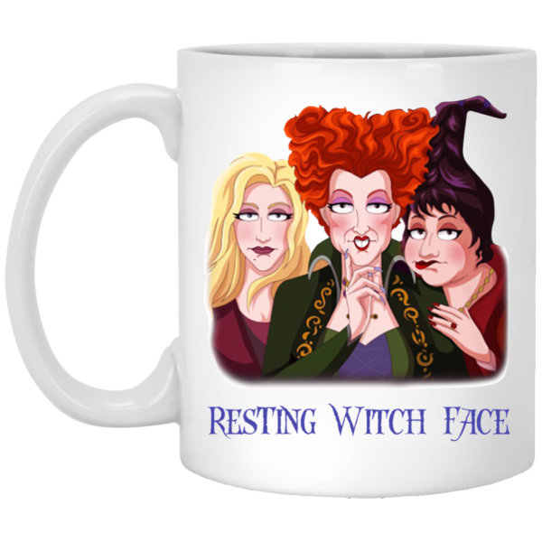 image 16 600x600 - Sanderson Sisters Resting Witch Face Hocus Pocus mug