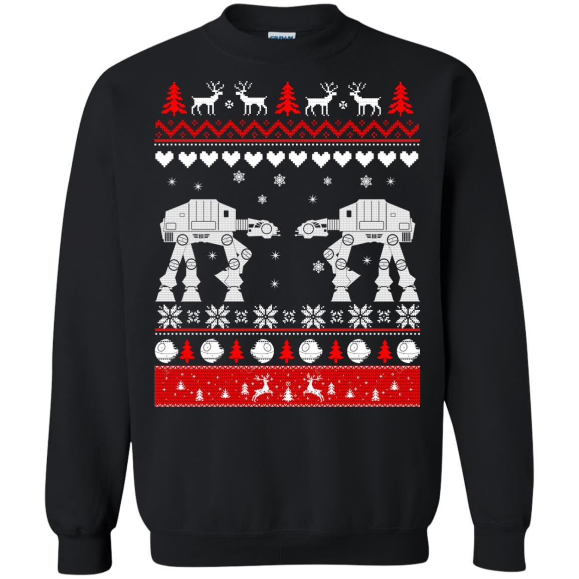 image 1680 - Star Wars AT AT Walker Christmas Sweatshirt, Hoodie