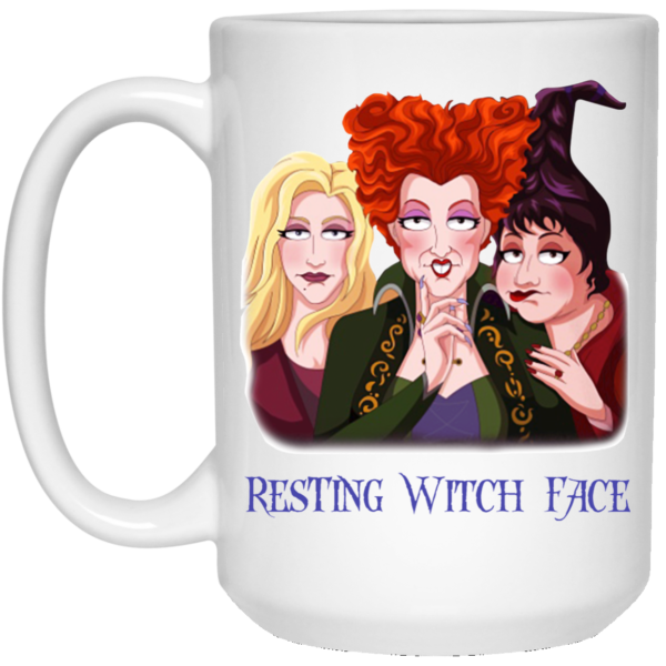 image 17 600x600 - Sanderson Sisters Resting Witch Face Hocus Pocus mug