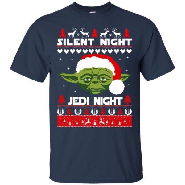 image 1711 600x600 - Yoda Star Wars: Silent Night Jedi Night Christmas Sweater, Hoodie