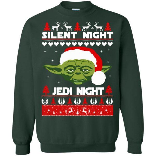 image 1719 600x600 - Yoda Star Wars: Silent Night Jedi Night Christmas Sweater, Hoodie