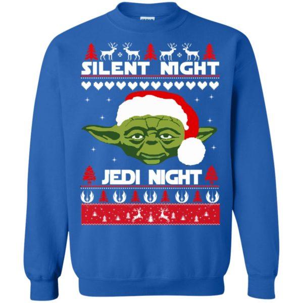 image 1720 600x600 - Yoda Star Wars: Silent Night Jedi Night Christmas Sweater, Hoodie