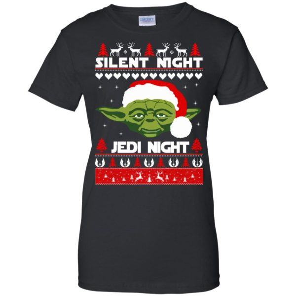 image 1721 600x600 - Yoda Star Wars: Silent Night Jedi Night Christmas Sweater, Hoodie