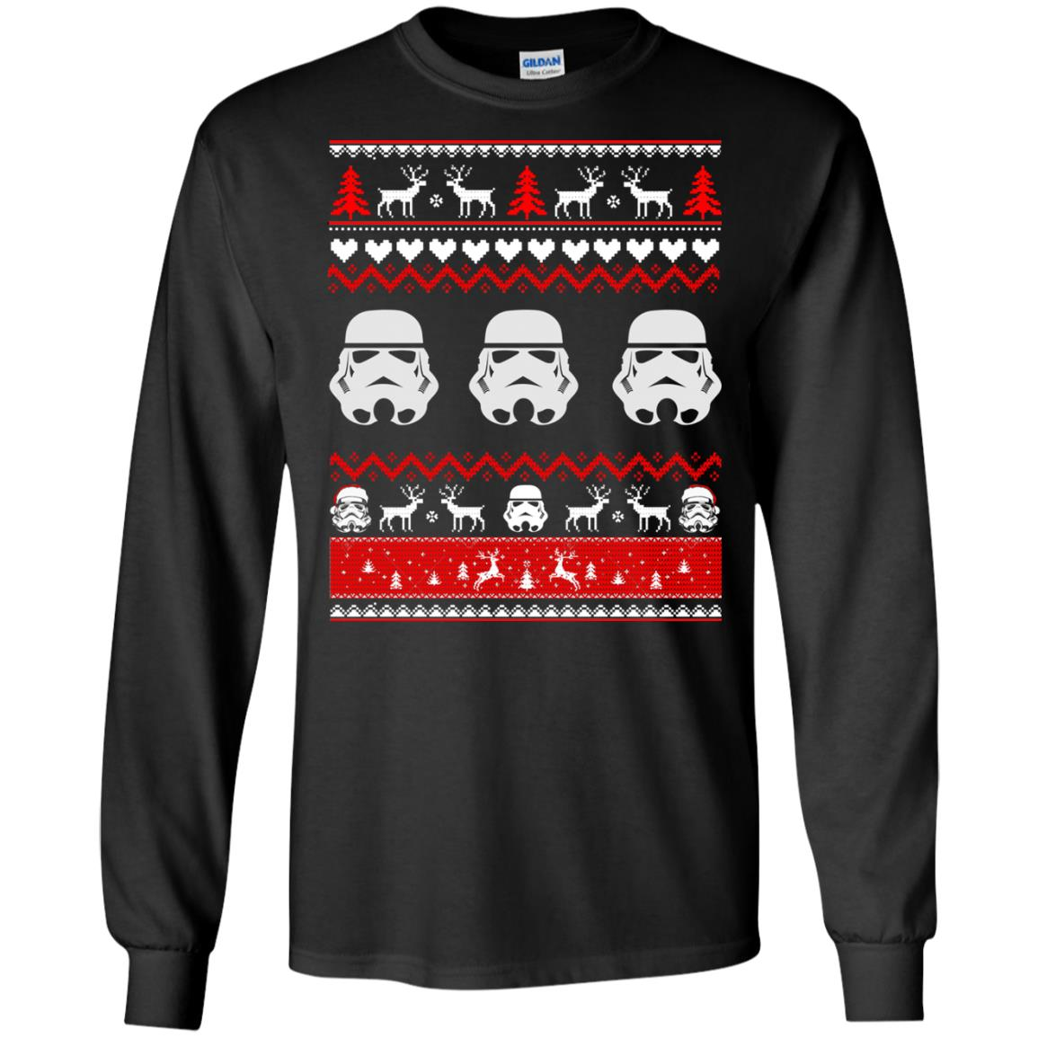 image 1724 - Stormtrooper Star Wars Ugly Christmas Sweatshirt, Shirt