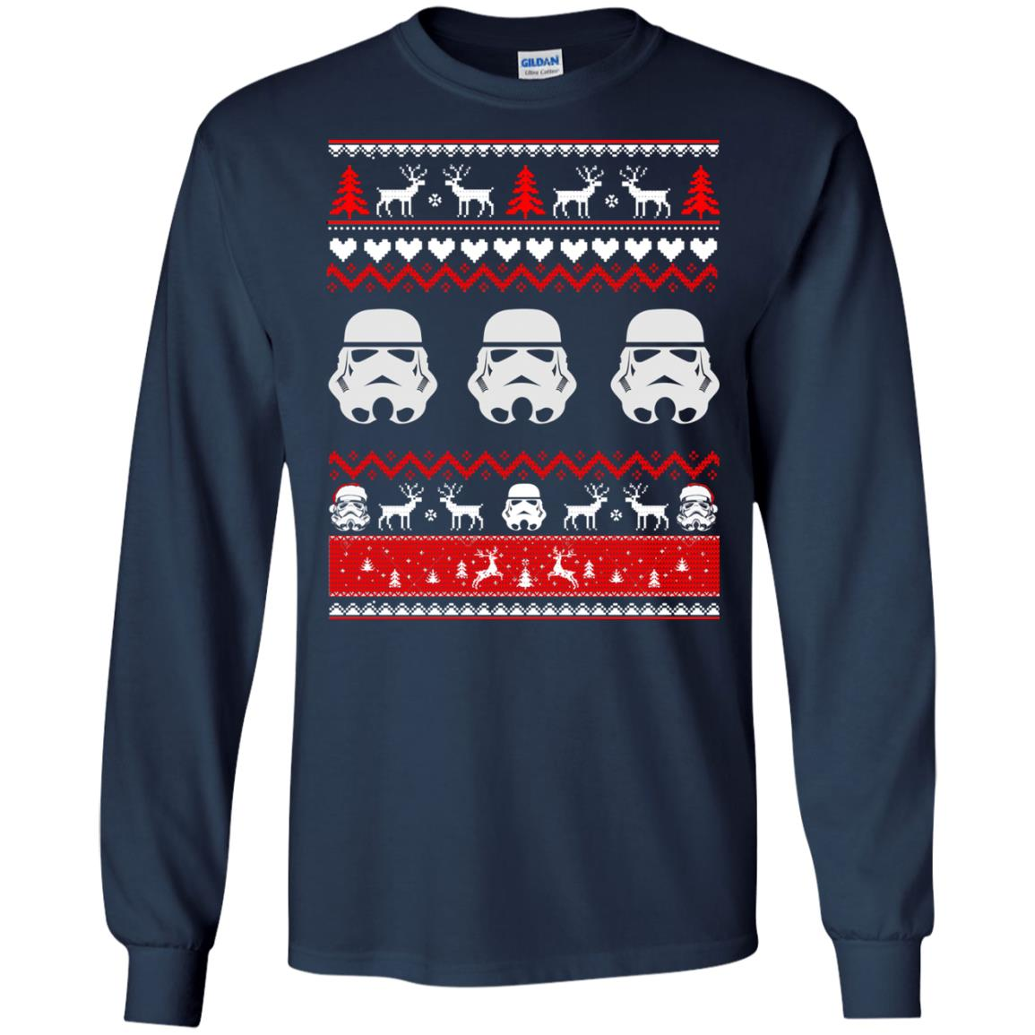 image 1725 - Stormtrooper Star Wars Ugly Christmas Sweatshirt, Shirt