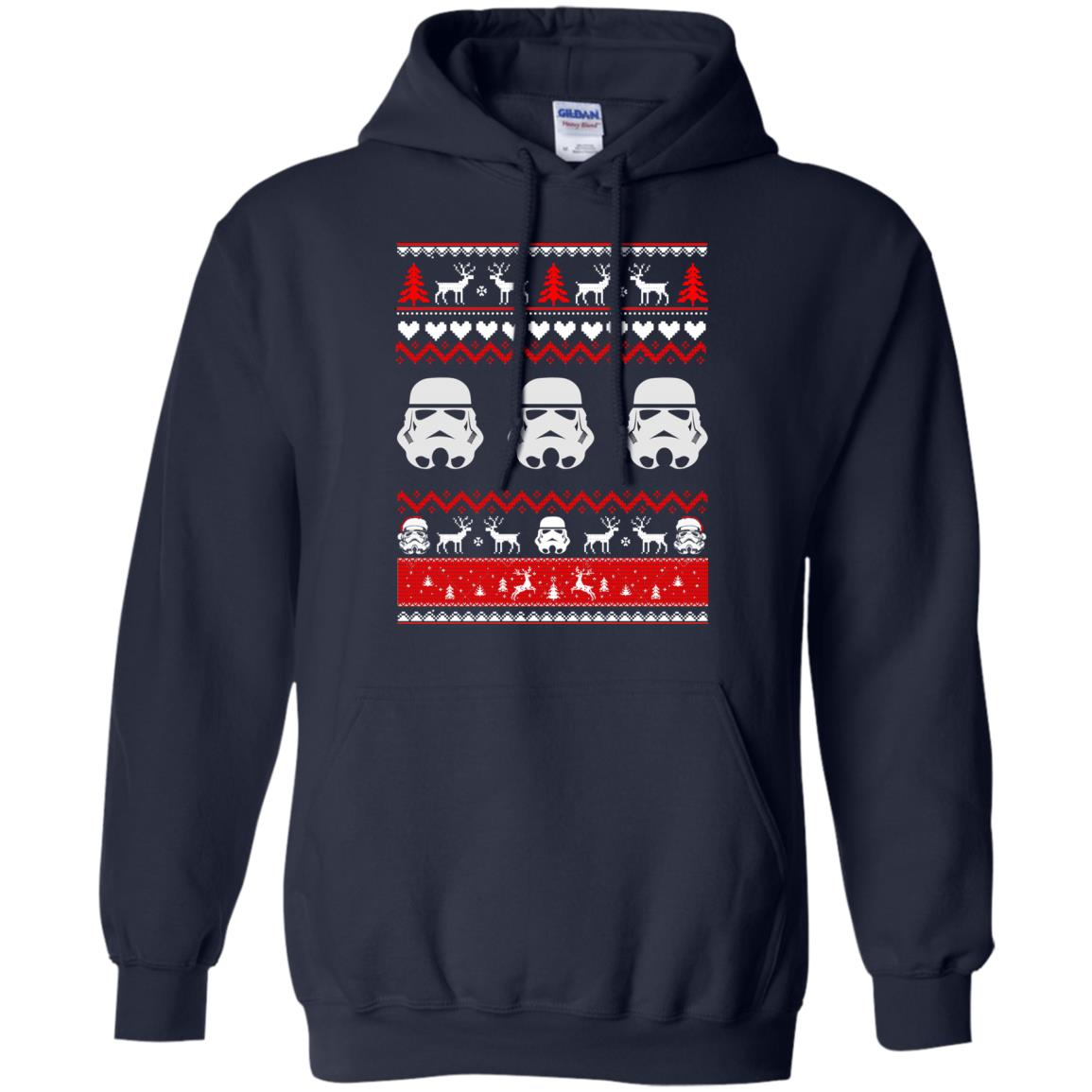 image 1727 - Stormtrooper Star Wars Ugly Christmas Sweatshirt, Shirt