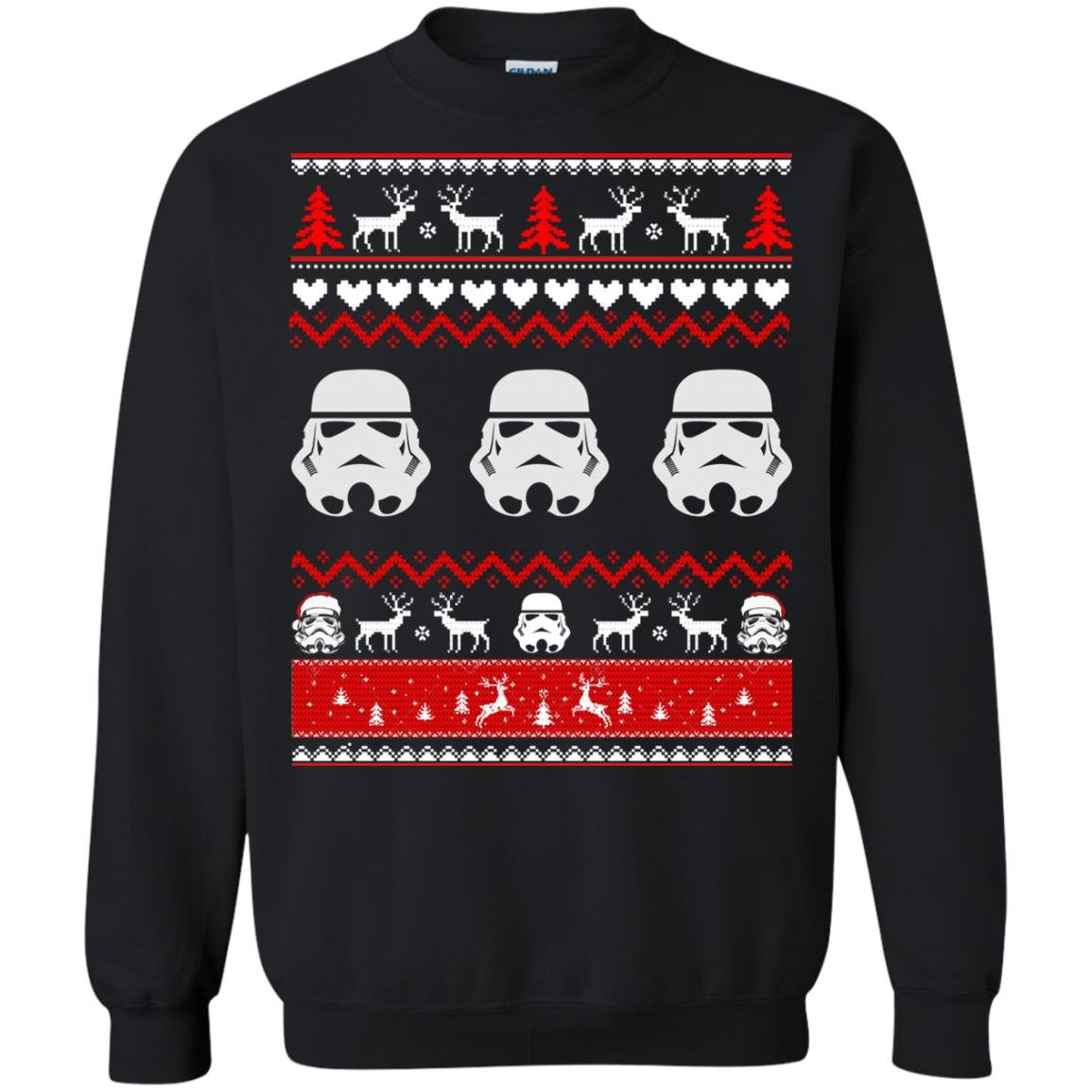 image 1728 - Stormtrooper Star Wars Ugly Christmas Sweatshirt, Shirt