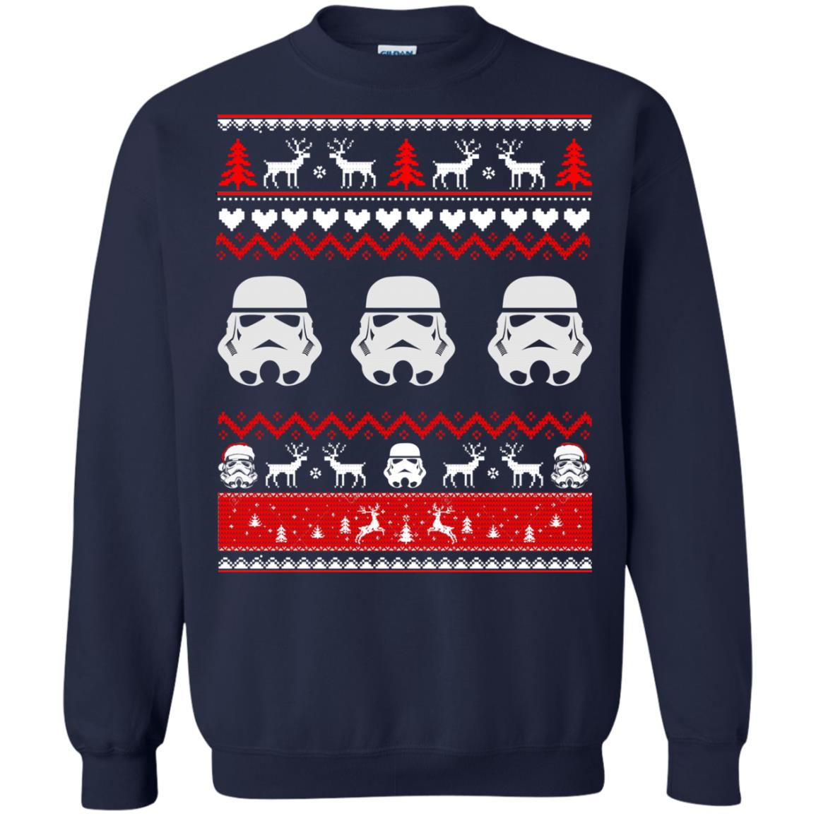 image 1729 - Stormtrooper Star Wars Ugly Christmas Sweatshirt, Shirt