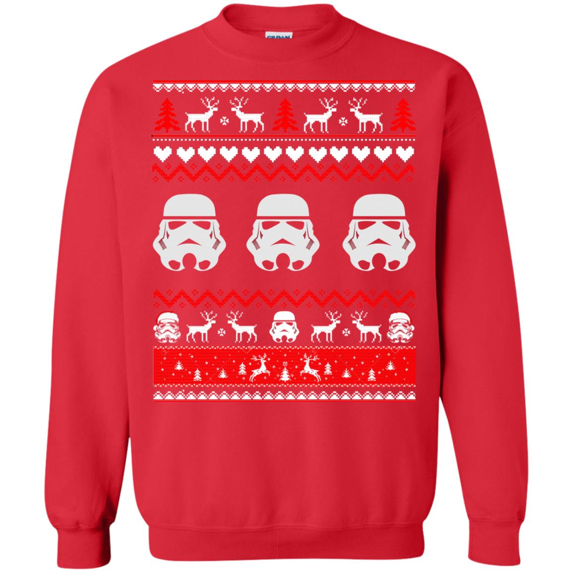 image 1730 - Stormtrooper Star Wars Ugly Christmas Sweatshirt, Shirt