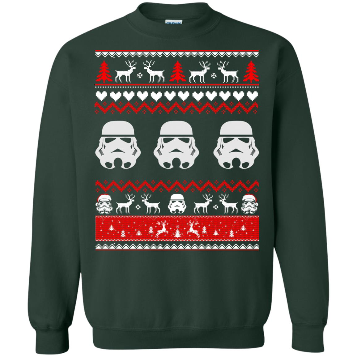 image 1731 - Stormtrooper Star Wars Ugly Christmas Sweatshirt, Shirt