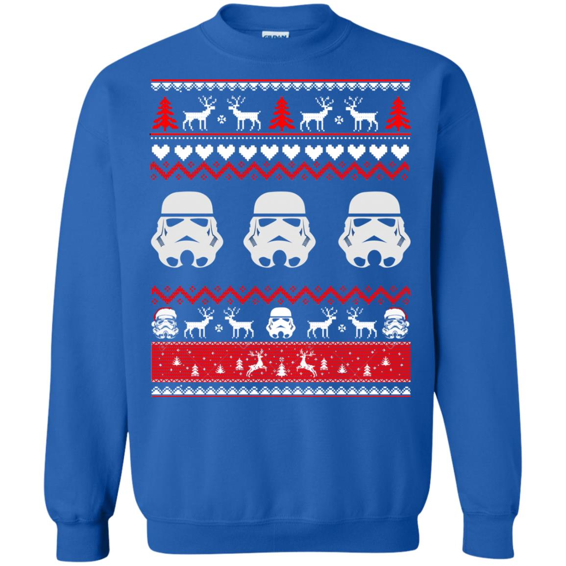 image 1732 - Stormtrooper Star Wars Ugly Christmas Sweatshirt, Shirt