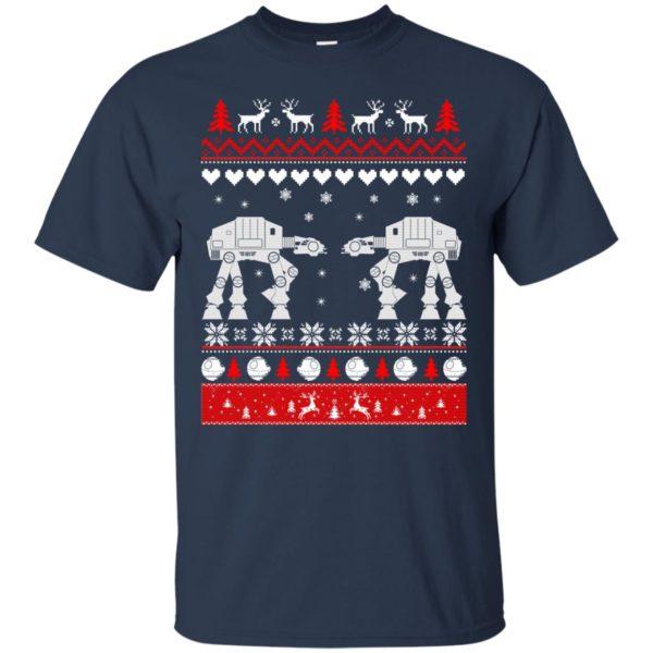 image 1735 600x600 - Star Wars AT AT Walker Christmas Sweatshirt, Hoodie