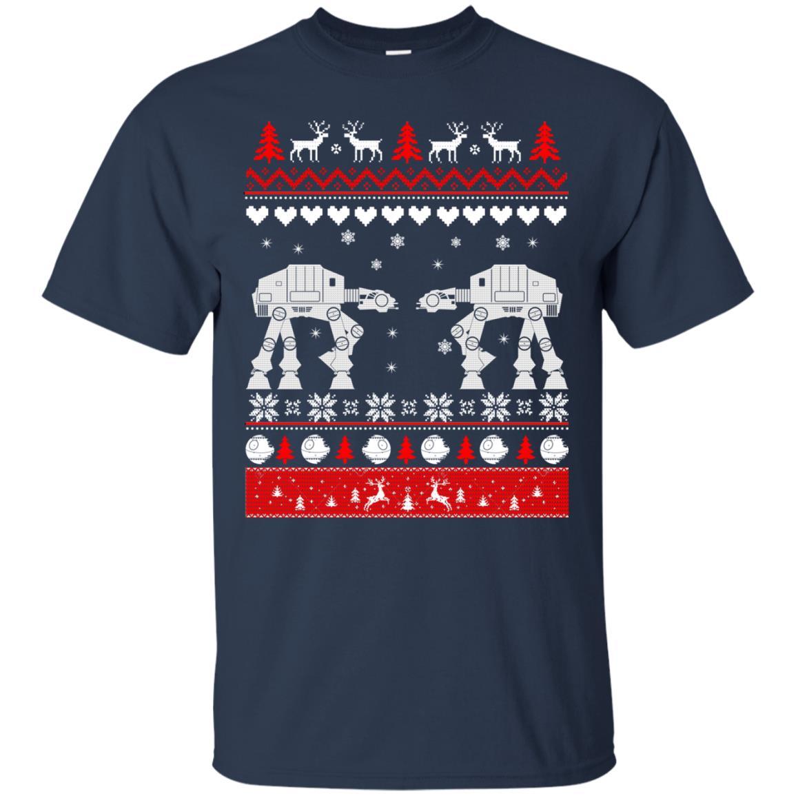 image 1735 - Star Wars AT AT Walker Christmas Sweatshirt, Hoodie