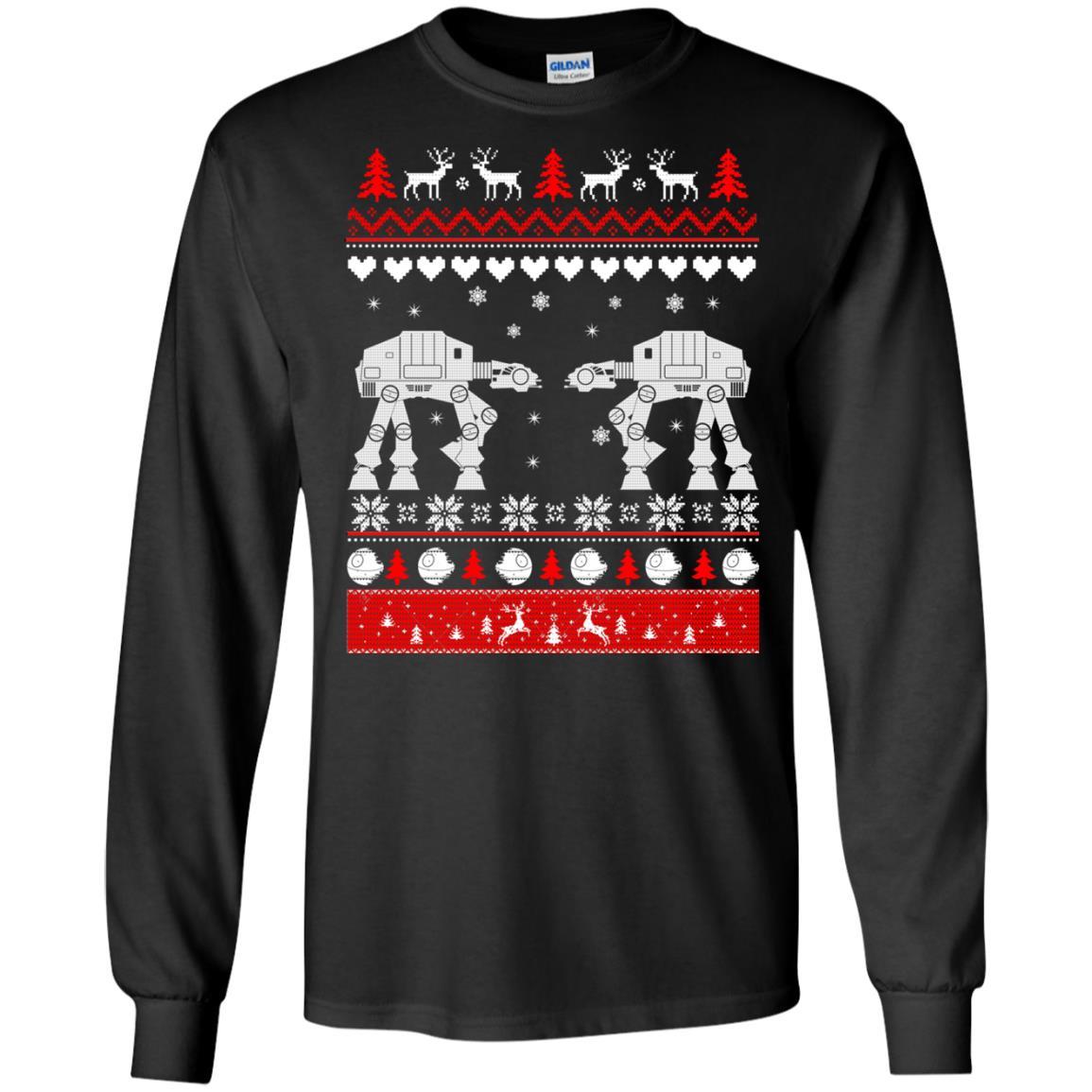 image 1736 - Star Wars AT AT Walker Christmas Sweatshirt, Hoodie