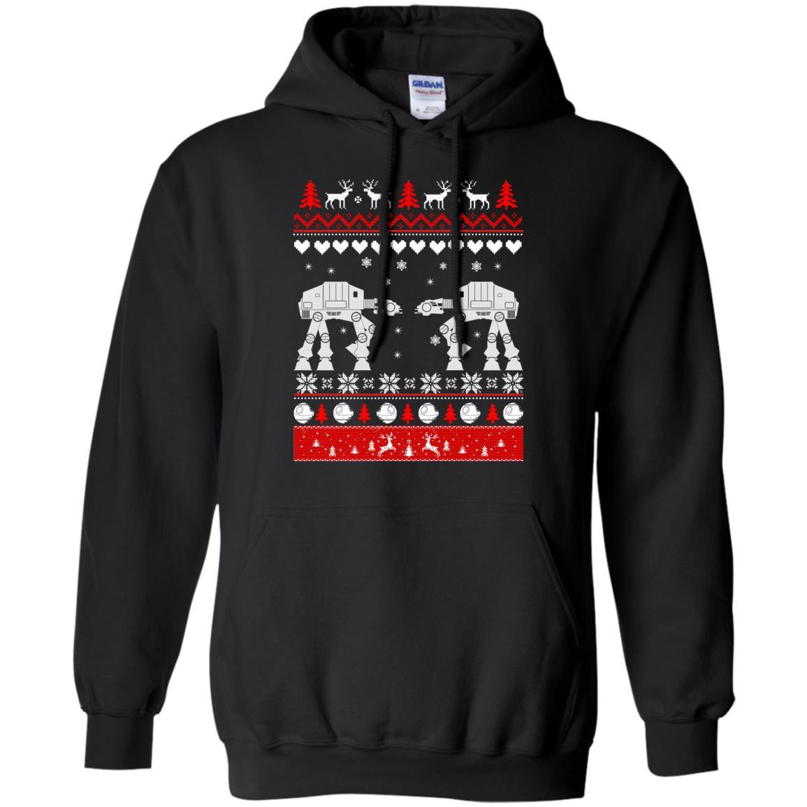 image 1738 - Star Wars AT AT Walker Christmas Sweatshirt, Hoodie