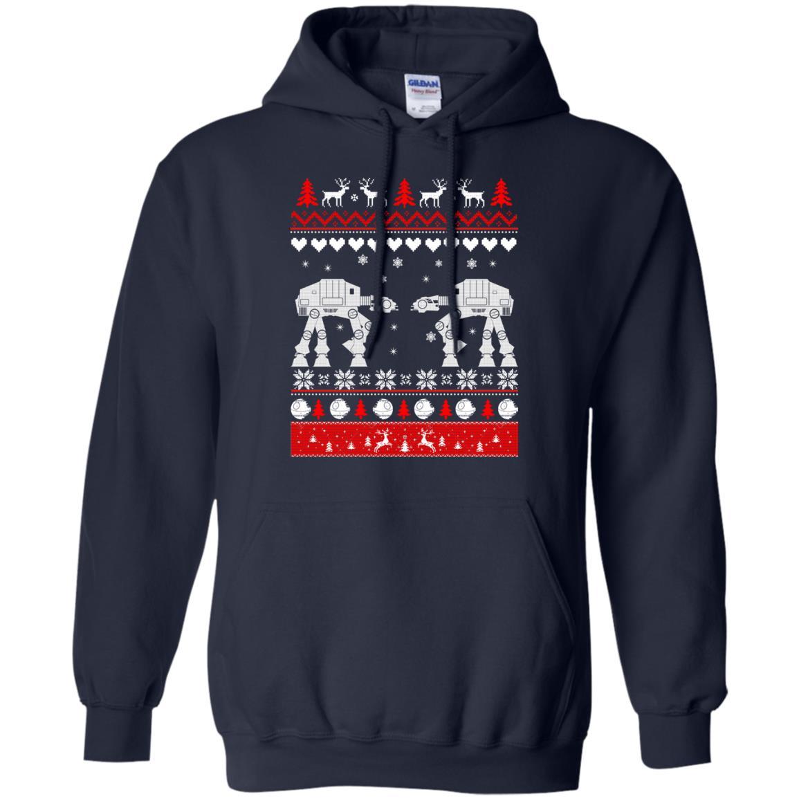 image 1739 - Star Wars AT AT Walker Christmas Sweatshirt, Hoodie