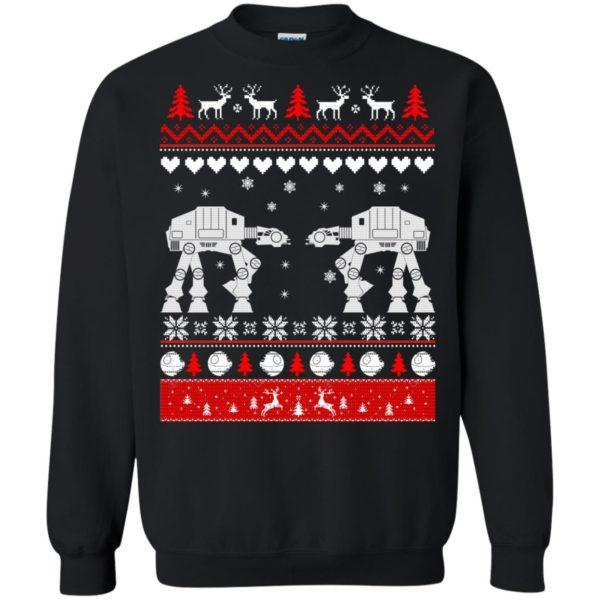 image 1740 600x600 - Star Wars AT AT Walker Christmas Sweatshirt, Hoodie