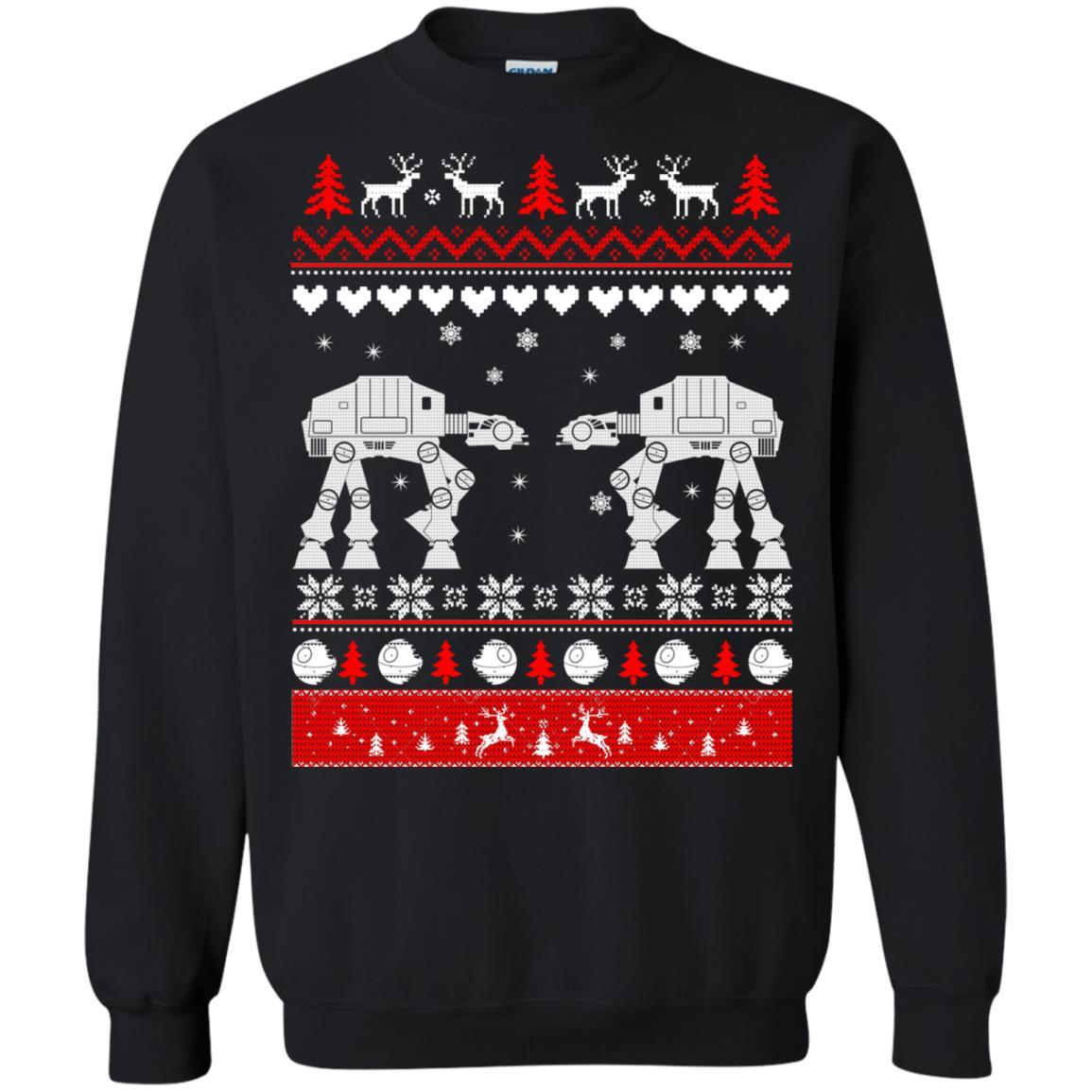 image 1740 - Star Wars AT AT Walker Christmas Sweatshirt, Hoodie