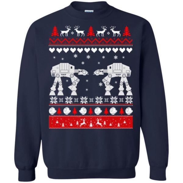 image 1741 600x600 - Star Wars AT AT Walker Christmas Sweatshirt, Hoodie