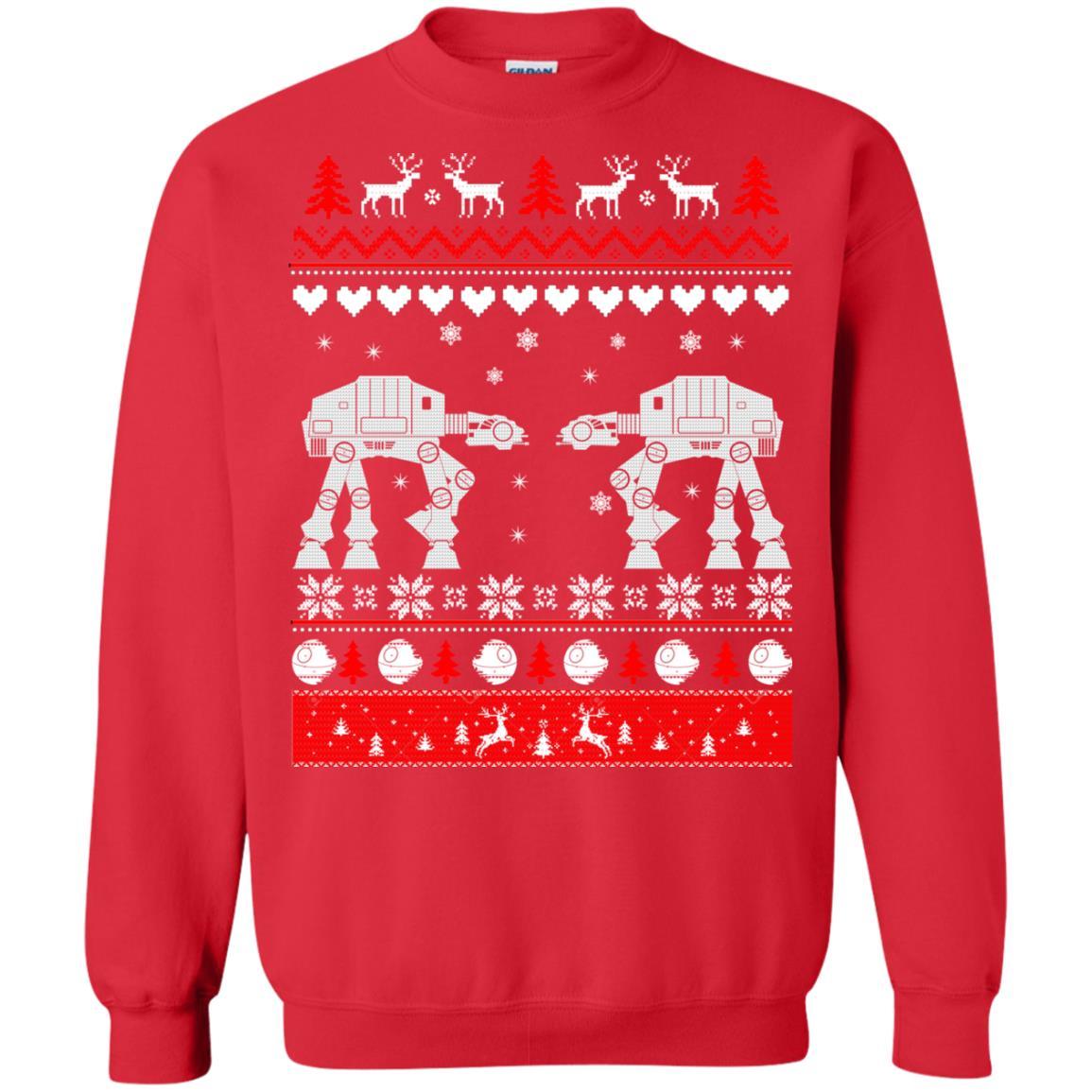 image 1742 - Star Wars AT AT Walker Christmas Sweatshirt, Hoodie