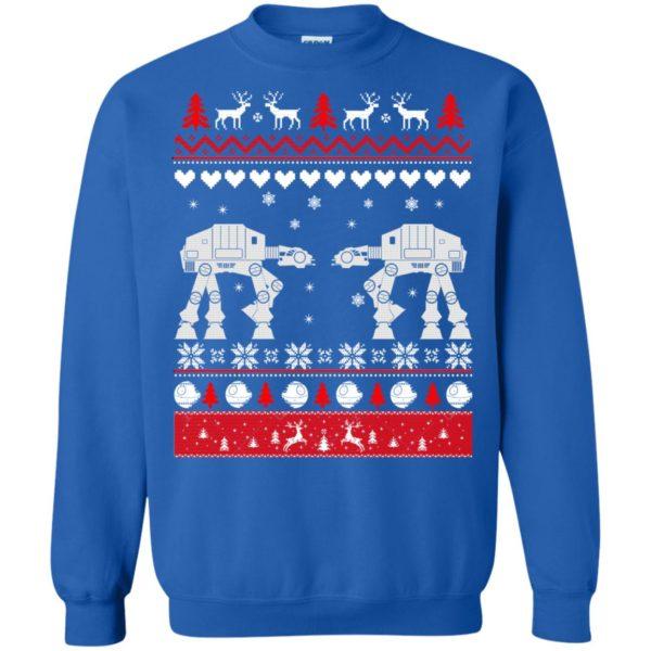 image 1744 600x600 - Star Wars AT AT Walker Christmas Sweatshirt, Hoodie