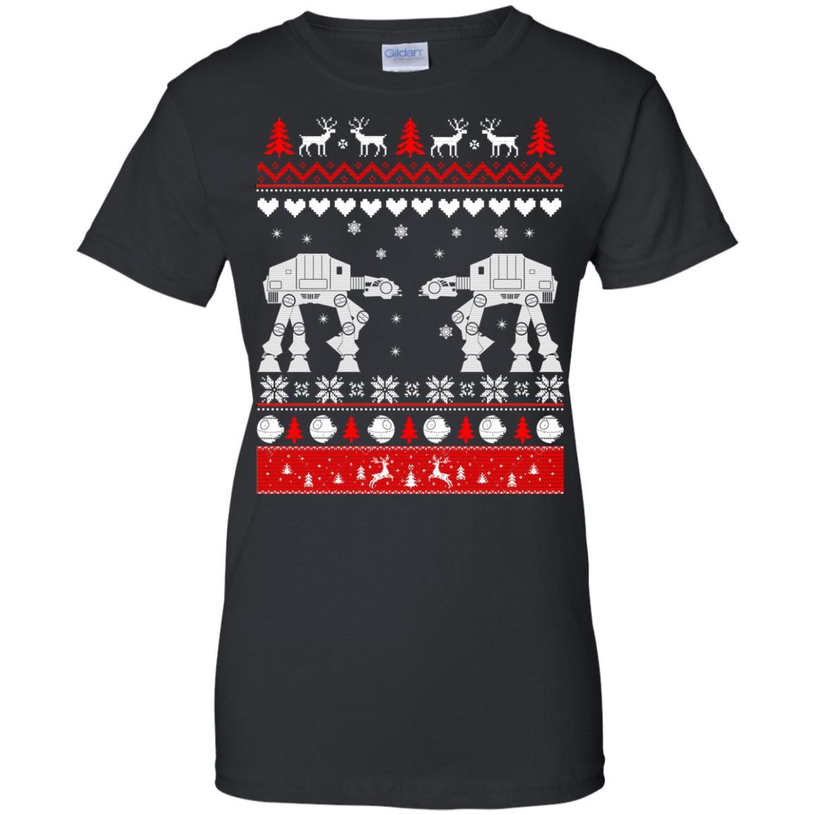 image 1745 - Star Wars AT AT Walker Christmas Sweatshirt, Hoodie