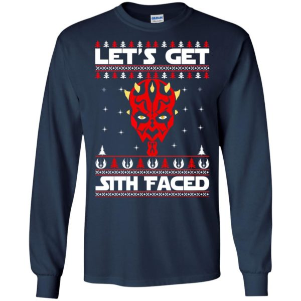 image 1749 600x600 - Darth Maul Let's Get Sith Faced Christmas Sweater