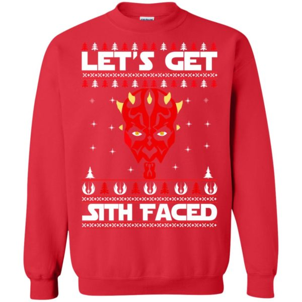 image 1754 600x600 - Darth Maul Let's Get Sith Faced Christmas Sweater