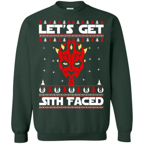 image 1755 600x600 - Darth Maul Let's Get Sith Faced Christmas Sweater