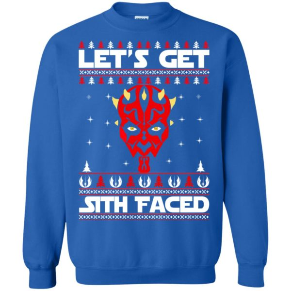 image 1756 600x600 - Darth Maul Let's Get Sith Faced Christmas Sweater