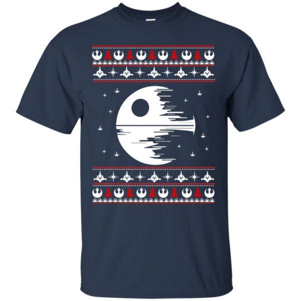 image 1771 600x600 - Star Wars Death Star Darth Vader Ugly Sweater, Shirt