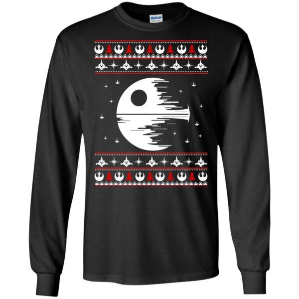 image 1772 600x600 - Star Wars Death Star Darth Vader Ugly Sweater, Shirt