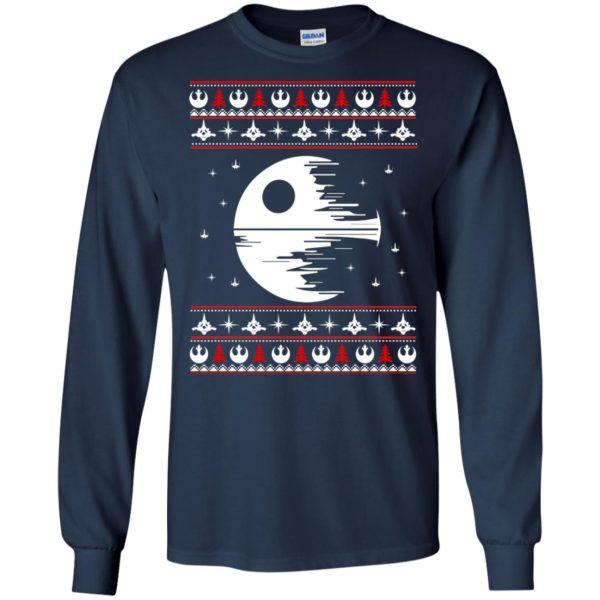 image 1773 600x600 - Star Wars Death Star Darth Vader Ugly Sweater, Shirt