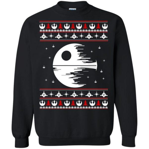 image 1776 600x600 - Star Wars Death Star Darth Vader Ugly Sweater, Shirt