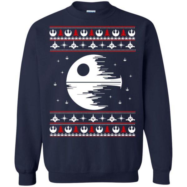 image 1777 600x600 - Star Wars Death Star Darth Vader Ugly Sweater, Shirt