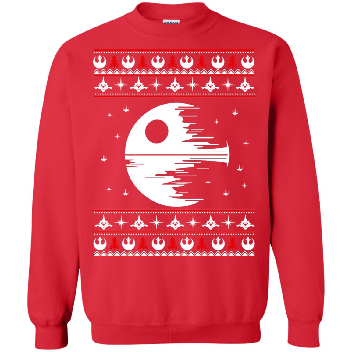 image 1778 - Star Wars Death Star Darth Vader Ugly Sweater, Shirt