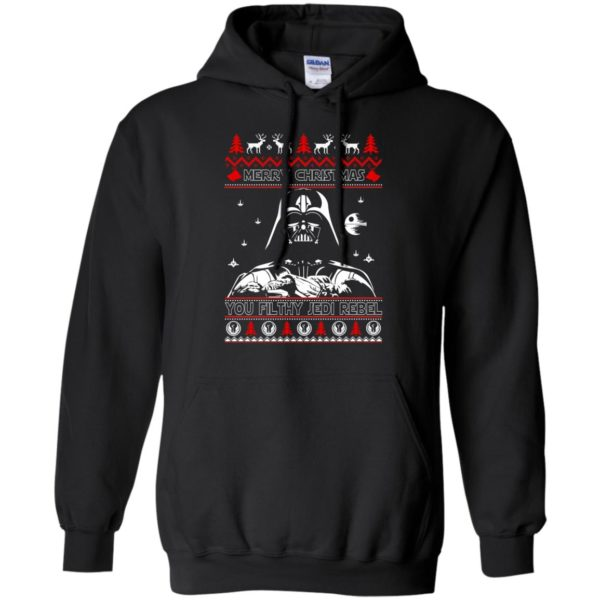image 1786 600x600 - Darth Vader Merry Christmas You Filthy Jedi Rebel Ugly Sweater, Shirt