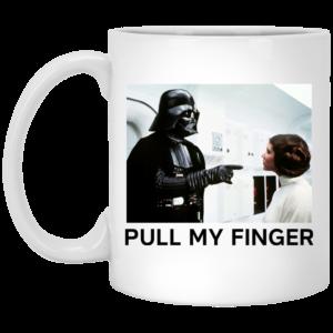 image 18 300x300 - Vader & Leia pull my finger Star Wars mug