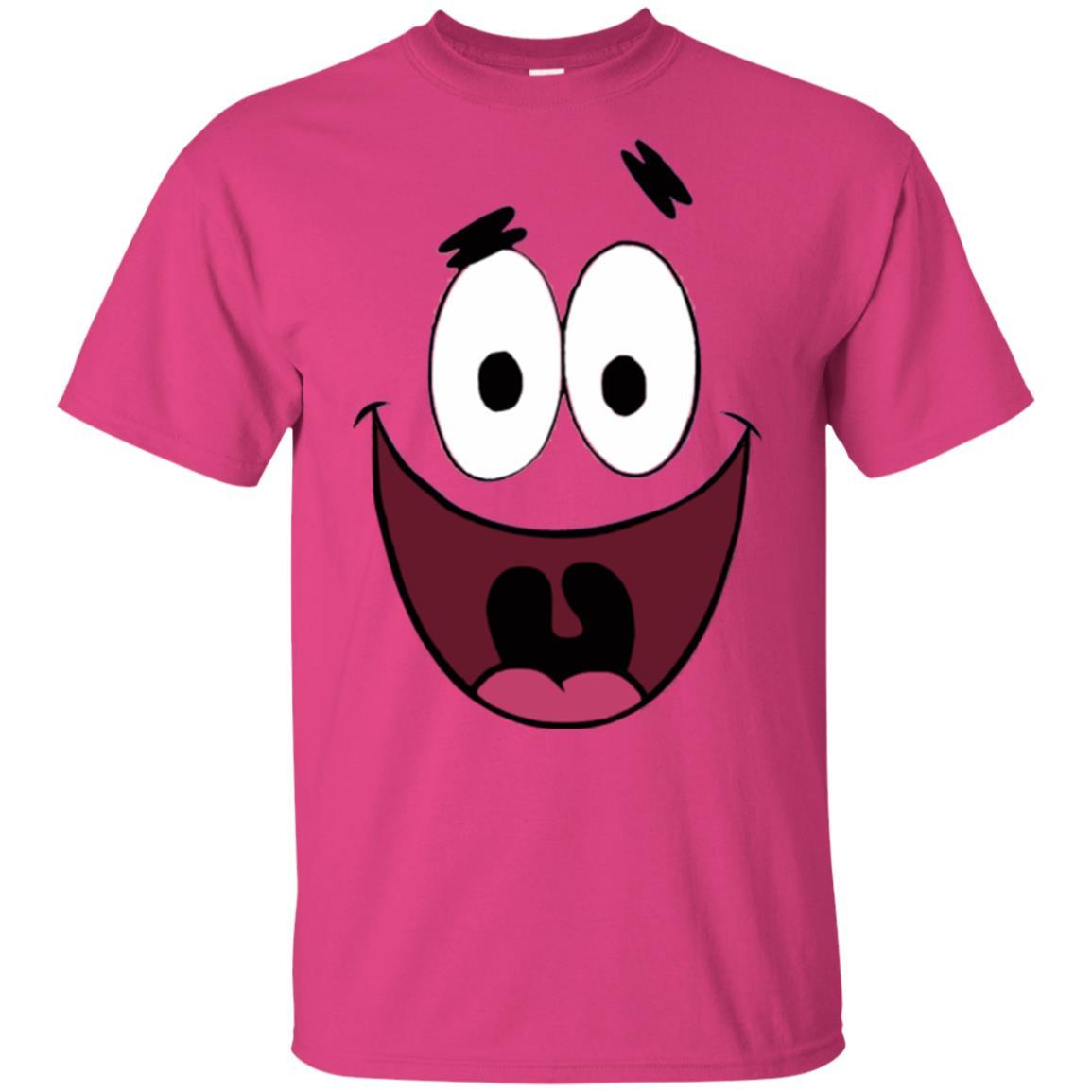 image 1805 - SpongeBob costume Patrick Star face shirt